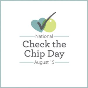 national check the chip day logo